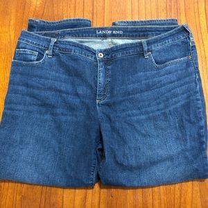 Lands' End fit 2 straight leg jeans